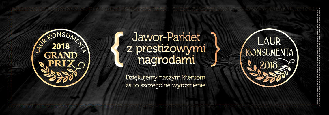 Jawor-Parkiet with the 2018 Consumer's Laurel!