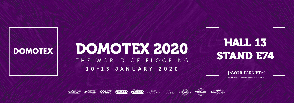 We invite you to Domotex 2020